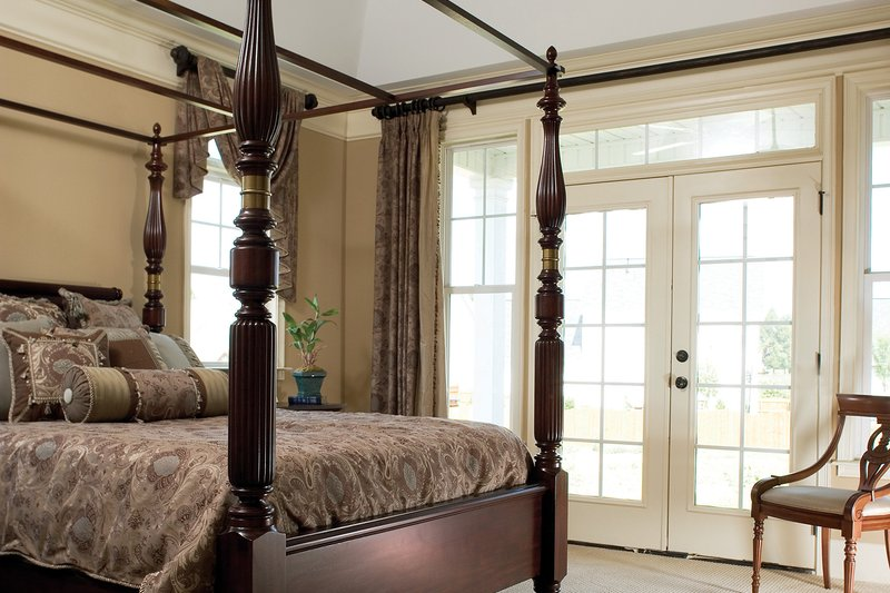 Country Interior - Master Bedroom Plan #929-19 - Houseplans.com