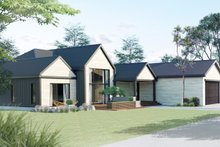 Dream House Plan - Ranch Exterior - Other Elevation Plan #1075-1