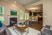 Country Style House Plan - 3 Beds 2.5 Baths 1635 Sq/Ft Plan #20-2192 Interior - Other