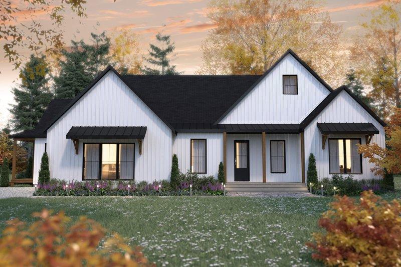 Architectural House Design - Farmhouse Exterior - Front Elevation Plan #23-2738