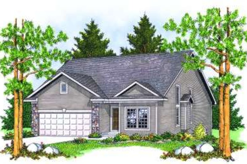 Traditional Exterior - Front Elevation Plan #70-798
