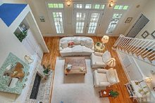Home Plan - Great Room - 2600 square foot Southern home