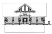 Country Style House Plan - 3 Beds 2.5 Baths 2281 Sq/Ft Plan #117-301 Exterior - Other Elevation