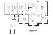 European Style House Plan - 5 Beds 3.5 Baths 4427 Sq/Ft Plan #901-59 Floor Plan - Upper Floor Plan