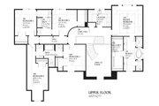 European Style House Plan - 5 Beds 3.5 Baths 4427 Sq/Ft Plan #901-59 Floor Plan - Upper Floor Plan