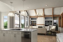 Farmhouse Interior - Kitchen Plan #54-390