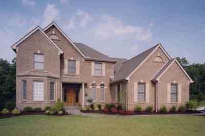 Southern Exterior - Front Elevation Plan #46-124 - Houseplans.com