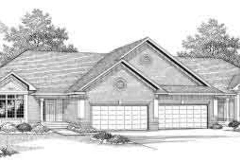 Traditional Exterior - Front Elevation Plan #70-745