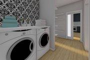Farmhouse Style House Plan - 2 Beds 2 Baths 928 Sq/Ft Plan #126-175 Interior - Laundry