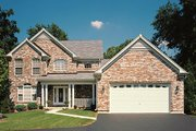 Traditional Style House Plan - 4 Beds 3.5 Baths 3138 Sq/Ft Plan #57-275 Photo