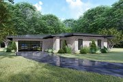 Contemporary Style House Plan - 3 Beds 2 Baths 2653 Sq/Ft Plan #17-3392 Exterior - Other Elevation