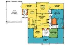 Country Floor Plan - Main Floor Plan Plan #20-2041