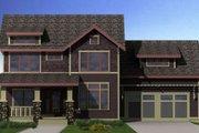 Craftsman Style House Plan - 3 Beds 2.5 Baths 2996 Sq/Ft Plan #461-12 Photo