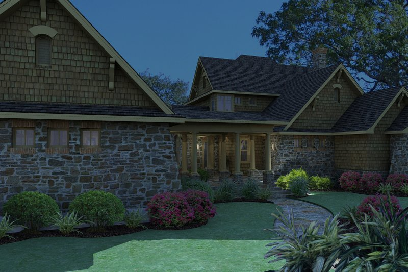 Craftsman Exterior - Other Elevation Plan #120-167 - Houseplans.com