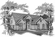House Plan - 5 Beds 3.5 Baths 3243 Sq/Ft Plan #329-369 Exterior - Other Elevation