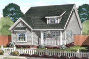 Cottage Style House Plan - 3 Beds 2 Baths 1433 Sq/Ft Plan #513-2078 Exterior - Front Elevation