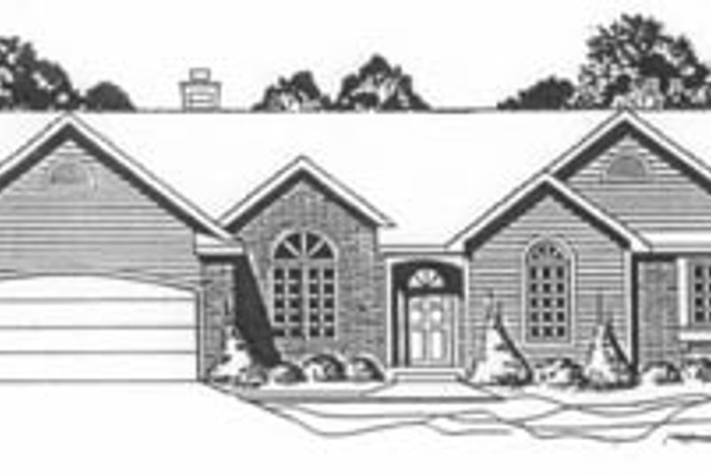 Traditional Exterior - Front Elevation Plan #58-139