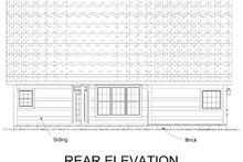 Traditional Exterior - Rear Elevation Plan #513-2189