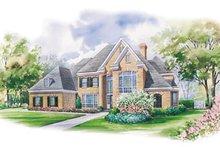 Home Plan - European Exterior - Front Elevation Plan #20-1184