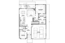 Craftsman Floor Plan - Main Floor Plan Plan #1069-15