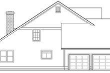 Home Plan - Farmhouse Exterior - Other Elevation Plan #124-193