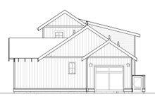Craftsman Exterior - Rear Elevation Plan #895-118
