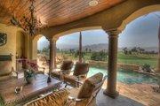 Mediterranean Style House Plan - 4 Beds 4.5 Baths 6755 Sq/Ft Plan #135-165 Photo