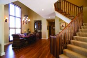 Traditional Style House Plan - 5 Beds 4.5 Baths 3478 Sq/Ft Plan #56-596 Photo