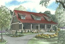 House Plan Design - Country Exterior - Other Elevation Plan #17-2512
