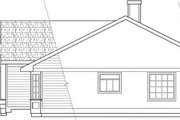 Ranch Style House Plan - 3 Beds 2 Baths 1569 Sq/Ft Plan #124-102 Exterior - Other Elevation
