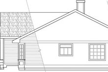 Home Plan - Ranch Exterior - Other Elevation Plan #124-102