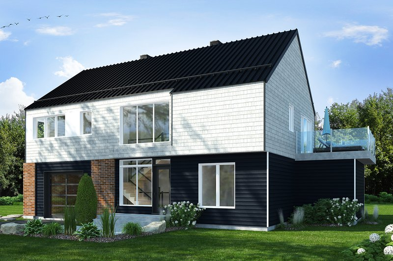 Contemporary Exterior - Front Elevation Plan #23-2648