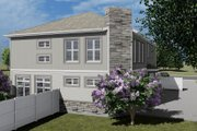 Craftsman Style House Plan - 3 Beds 2.5 Baths 7676 Sq/Ft Plan #1060-53 Exterior - Other Elevation