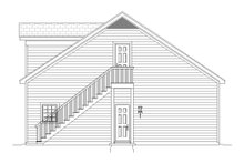 Country Exterior - Other Elevation Plan #932-195