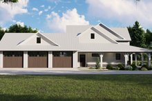 Dream House Plan - Farmhouse Exterior - Other Elevation Plan #1064-101
