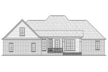Dream House Plan - Rear VIew - 2200 square foot Country home