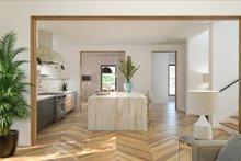 Modern Interior - Kitchen Plan #1076-3
