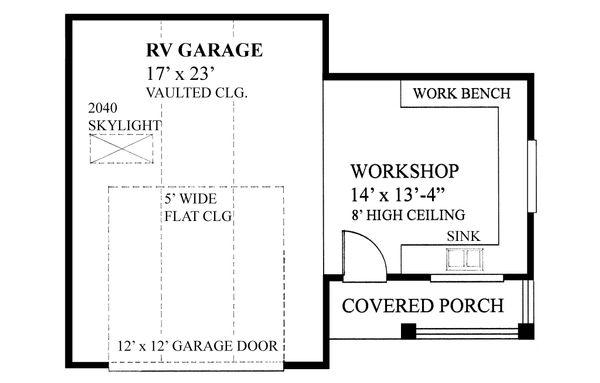 House Plan Design - Traditional Floor Plan - Main Floor Plan #118-175