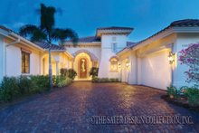 Dream House Plan - Mediterranean Exterior - Front Elevation Plan #930-421