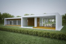 Home Plan - Modern design, elevation