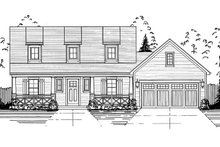 House Plan Design - Farmhouse Exterior - Front Elevation Plan #46-868