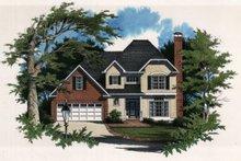 Home Plan - European Exterior - Front Elevation Plan #41-138