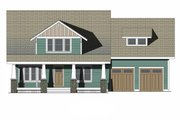 Craftsman Style House Plan - 4 Beds 3.5 Baths 2522 Sq/Ft Plan #461-70 Exterior - Front Elevation