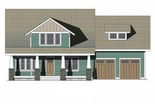 Home Plan - Craftsman Exterior - Front Elevation Plan #461-70