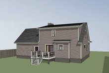 Dream House Plan - Country Exterior - Other Elevation Plan #79-157