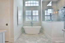 Architectural House Design - European Interior - Master Bathroom Plan #929-1009