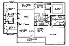 Country Floor Plan - Main Floor Plan Plan #935-1