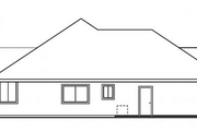 House Plan - 3 Beds 2.5 Baths 2561 Sq/Ft Plan #124-477 Exterior - Other Elevation