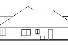 Home Plan - Exterior - Other Elevation Plan #124-477