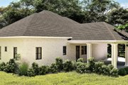 Bungalow Style House Plan - 2 Beds 2 Baths 2160 Sq/Ft Plan #44-238 Exterior - Rear Elevation